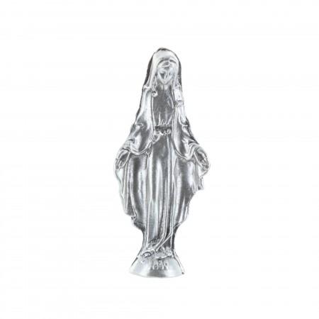 Statua Madonna Miracolosa in metallo 5,5 cm