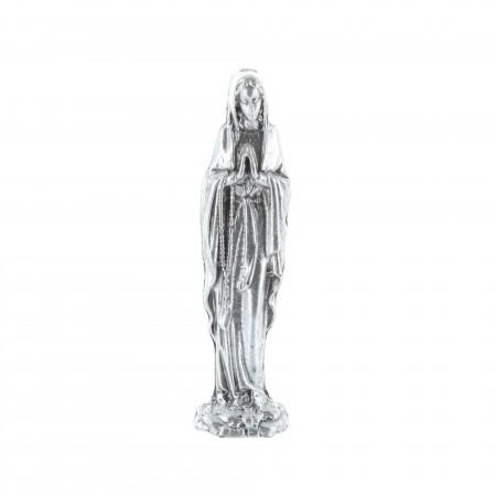 Statua Madonna in metallo 4 cm