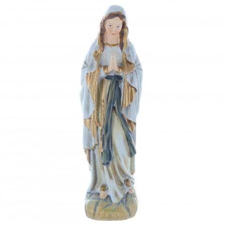 Statua Madonna in resina stile antico 13 cm