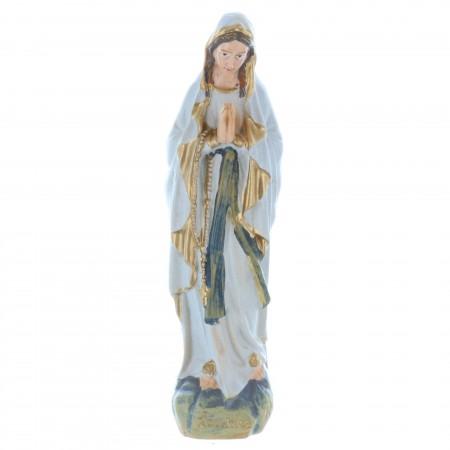 Statue Vierge Marie en résine style antique 10 cm