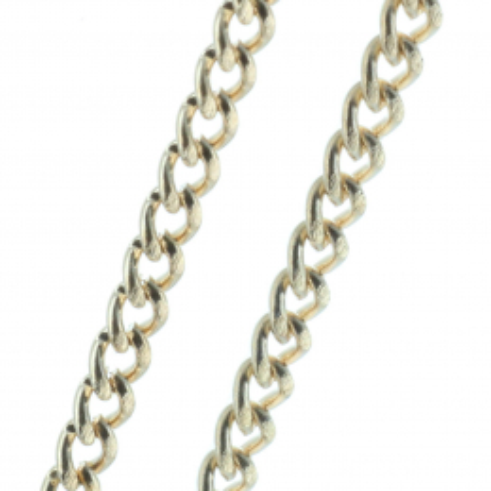 Chaîne métal doré 50 cm
