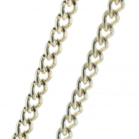 Catena metallo dorato 50 cm