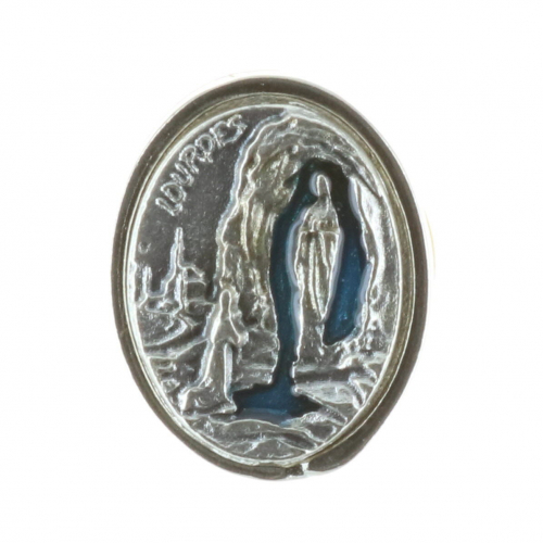 Lourdes Apparition pin