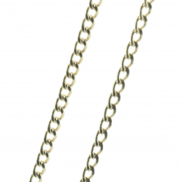Gold-plated chain 45 cm
