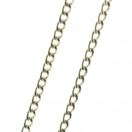 Catena Placcata d'Oro 45 cm