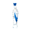 Our Lady plastic bottle filled with 100ml of Lourdes water