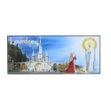 Apparition, Basilica and Grotto of Lourdes rectangular magnet