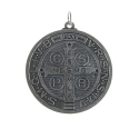 Saint Benedict medal in metal
