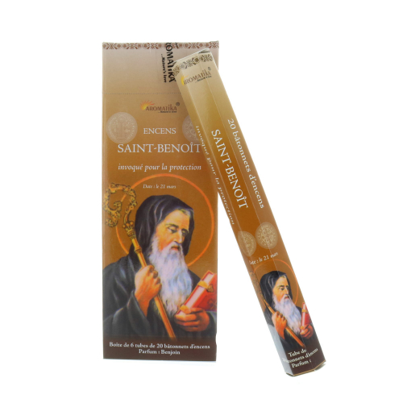 Encens religieux Saint Benoît 20 bâtonnets