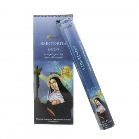 Incenso religioso Santa Rita 20 bastoncini
