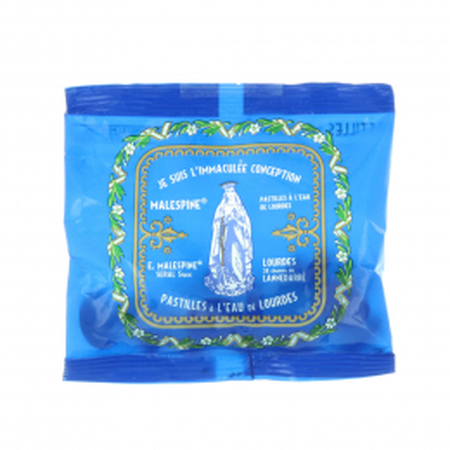 Pastiglie con acqua di Lourdes, sacchetto di 40g