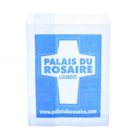 Lot de 10 sachets papier Palais du Rosaire 15 x 21 cm