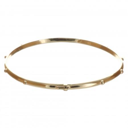 Bracelet Plaqué Or jonc dizainier