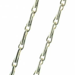 Gold-plated chain 60 cm