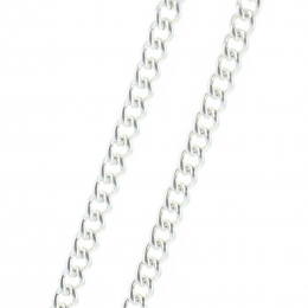 Silver metal chain 50cm
