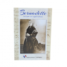 "Lourdes book ""Bernadette recounts her Apparitions"""