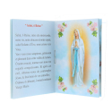 Lourdes Apparition prayer booklet with a one decade rosary