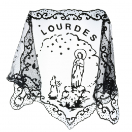 Lourdes Apparition mantilla