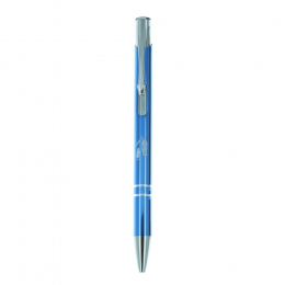 Silvery pen with Lourdes Apparition