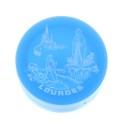 Gobelet pliant plastique et Apparition de Lourdes