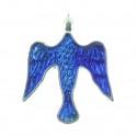 Colour dove pin badge