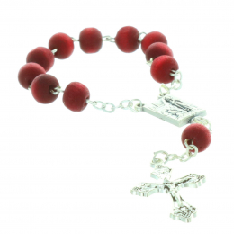 Rose-scented one-decade rosary and mini rose box