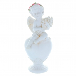 Lourdes Apparition colour resin statue XX cm