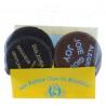Lot de 4 chocolats fin fabriqués par les soeurs du Carmel de Lourdes