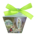 Box of Lourdes Gave chocolate pebbles candy 60g and Lourdes Apparition