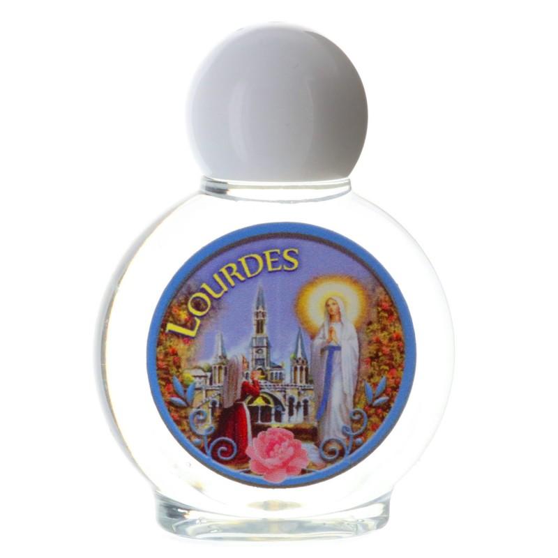 Flacon plastique de 40 ml avec l'eau de Lourdes