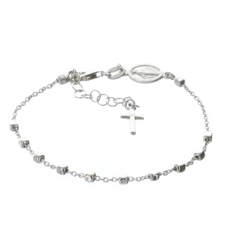 bracelet argent chapelet