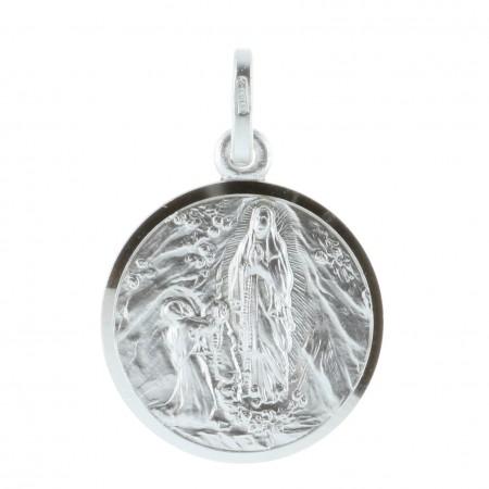Médaille de Lourdes en Argent