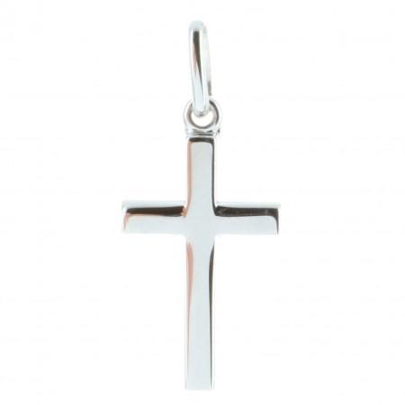 Pendentif croix Argent sobre