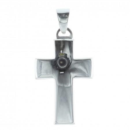 Pendentif croix Argent épais