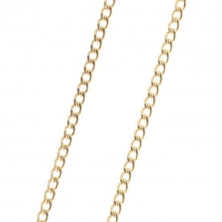 Chaîne Plaqué Or maille classique 50 cm