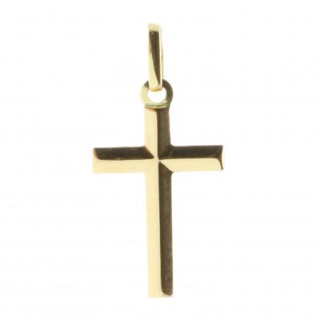 Croix pendentif Or 18 carats