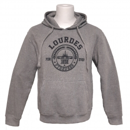 Lourdes forever grey adult sweatshirt unisex