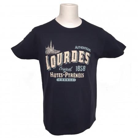 T-shirt adulte Lourdes vintage