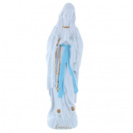 Statue Vierge Marie épurée en résine pour l'extérieur 30 cm