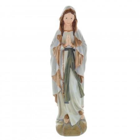 Statue Vierge Marie en résine style antique 30 cm