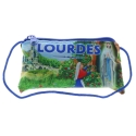 Lourdes pouch with its zippered pocket