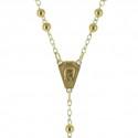 Chapelet de Lourdes en Or 375/1000 9 carats