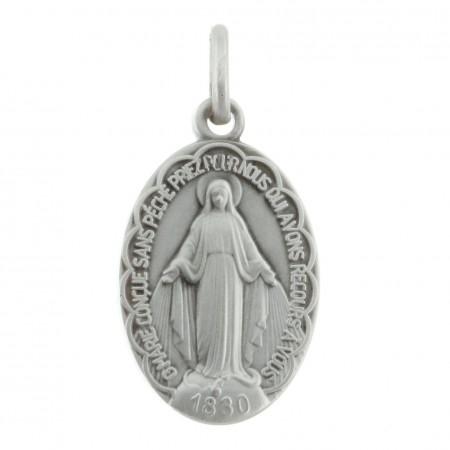 Médaille Argent de la Vierge Miraculeuse