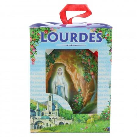 Boule de Noël de l'Apparition de Lourdes