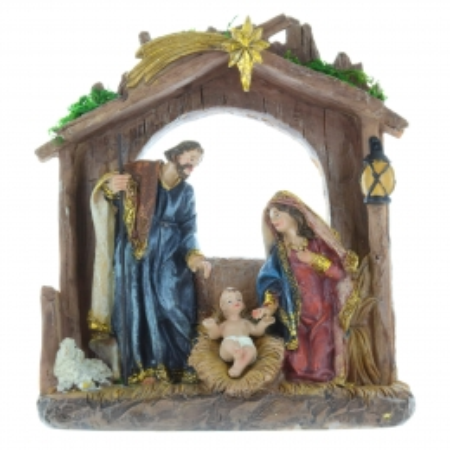 Crèche de Noël 20cm
