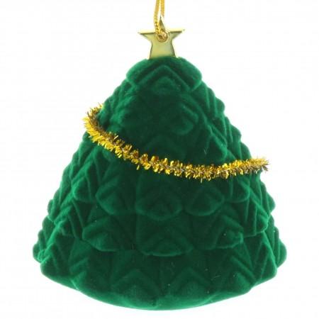 Décoration pour sapin de Noël en forme d'arbre ouvrant
