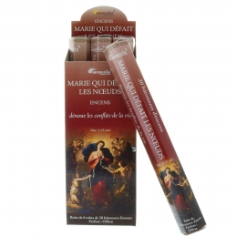 Mary Undoer of Knots 20 religious incense sticks