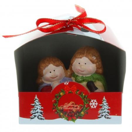 Crèche de Noël et sujets en céramique 9cm