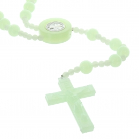 Bracelet religieux avec une croix de vie en zirconium