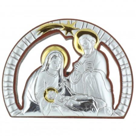 Chevalet religieux de la Sainte Famille 5 x 6,5cm